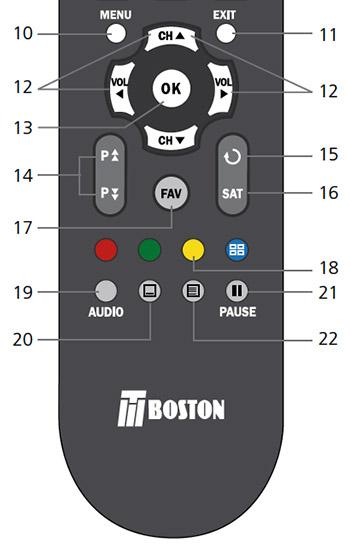 mando distancia tboston dvb4600