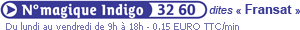 numéro indigo 3260 Fransat