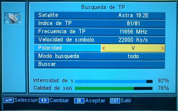 chaîne canal satellite