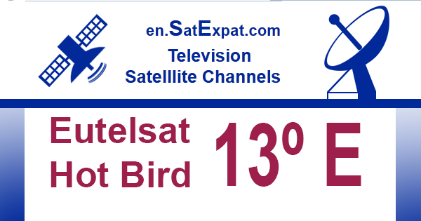 List of free-to-air and encrypted television channels at satellites 13°E  Eutelsat Hot Bird