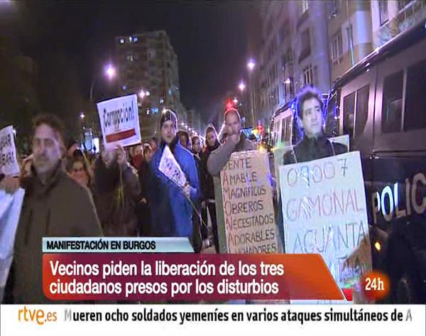 canal 24 Horas Burgos Gamonal